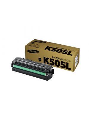 Samsung CLTK505L Genuine Black Toner Cartridge SU169A - 6,000 pages