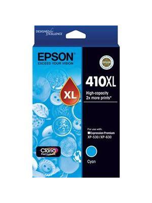 Epson 410XL Genuine High Yield Cyan Ink Cartridge
