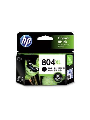 HP #804XL Genuine Black Ink T6N12AA - 600 pages