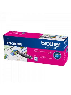 Brother TN253 Genuine Magenta Toner Cartridge - 1,300 pages