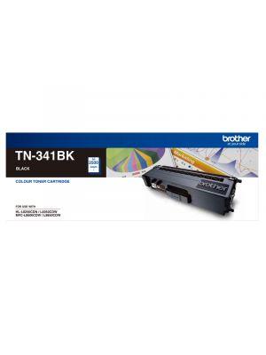 Brother TN341 Genuine Black Toner Cartridge - 2,500 pages