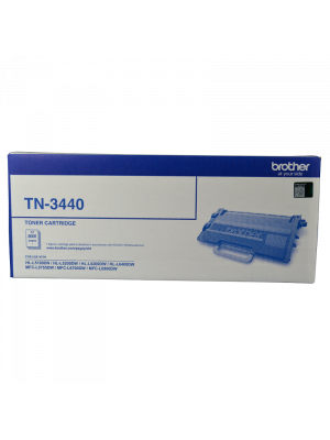 Brother TN3440 Genuine Toner Cartridge - 8,000 pages