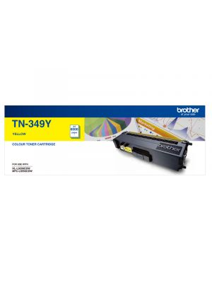 Brother TN349 Genuine Yellow Toner Cartridge - 6,000 pages