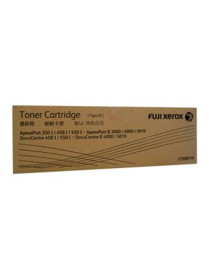 Xerox DocuCentre II 4000/5010 ApeosPort 350i/550i/3000/4000/5010 Genuine Black Toner Cartridge - 25,000 pages (CT200719)