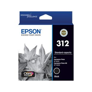 Epson 312 (C13T182192) Genuine Black Inkjet Cartridge