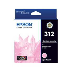 Epson 312 (C13T182692) Genuine Light Magenta Inkjet Cartridge