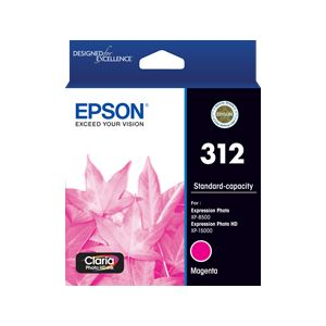 Epson 312 (C13T182392) Genuine Magenta Inkjet Cartridge