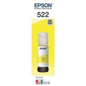 Epson T522 Genuine Yellow Ink Bottle [C13T00M492]