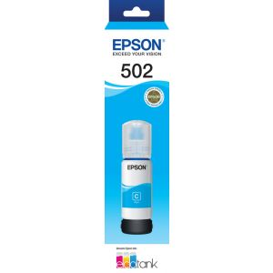 Epson T502 Genuine Cyan Eco Tank Ink