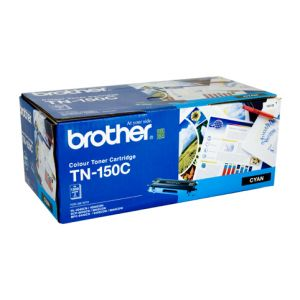 Brother TN150 Genuine Cyan Toner Cartridge - 1,500 pages