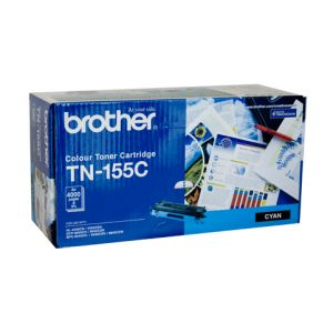 Brother TN155 Genuine Cyan Toner Cartridge - 4,000 pages