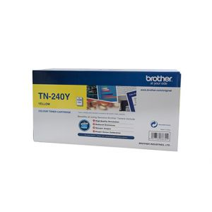 Brother TN240 Genuine Yellow Toner Cartridge - 1,400 pages