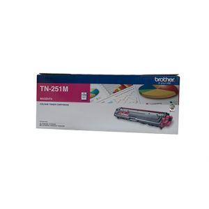 Brother TN251 Genuine Magenta Toner Cartridge - 1,400 pages