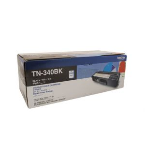 Brother TN340 Genuine Black Toner Cartridge - 2,500 pages