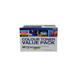 Brother TN255 Genuine Colour Value 4 Pack - refer to singles