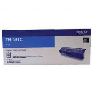 Brother TN441 Genuine Cyan Toner Cartridge - 1,800 pages