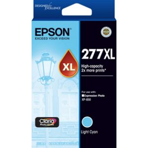 Epson 277XL Genuine  High Yield Light Cyan Ink Cartridge - 740 pages