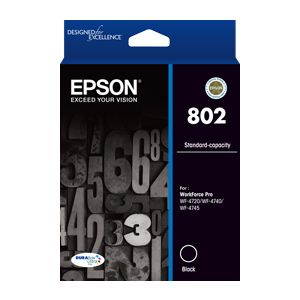 Epson 802 Genuine Black Ink Cartridge