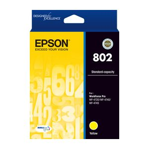 Epson 802 Genuine Yellow Ink Cartridge