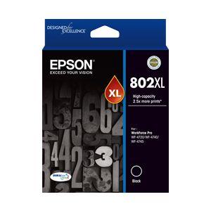 Epson 802 Genuine Black XL Ink Cartridge