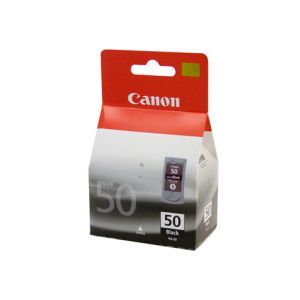 Canon PG50 Genuine Fine Black High Yield Ink Cartridge - 510 pages