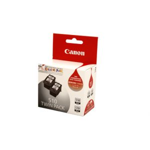 Canon PG510 Genuine Black Ink Twin Pack - 2 x 220 pages