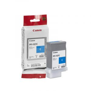 Canon PFI107 Genuine Cyan Ink