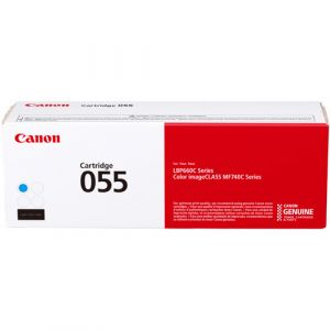 Canon Cartridge 055 Cyan Toner cartridge box