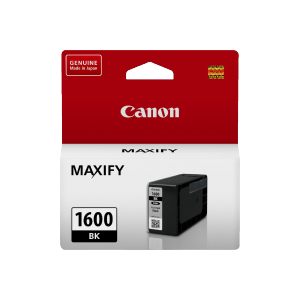 Canon PGI1600BK Genuine Black Ink Tank - 400 pages