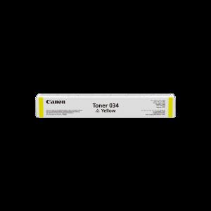 Canon CART034 Genuine Yellow Toner