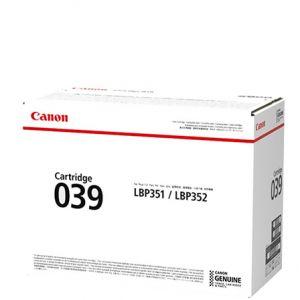 Canon CART039 Genuine Black Toner Cartridge - 6,000 pages