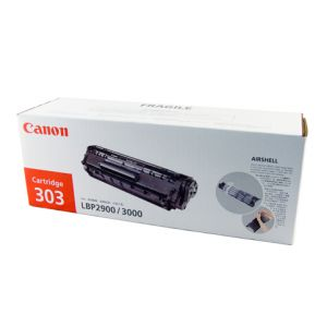 Canon CART303 Genuine Black Toner Cartridge - 2,000 pages