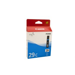 Canon PGI29 Genuine Cyan Ink Tank - 230 pages