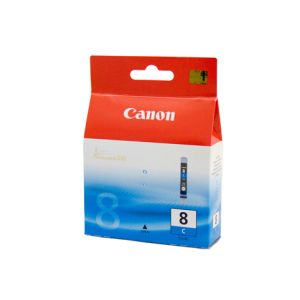 Canon CLI8C Genuine Cyan Ink Cartridge - 62 pages