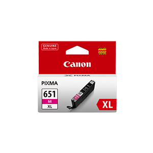 Canon CLI651XL Genuine Magenta Ink Cartridge - 680 A4 pages