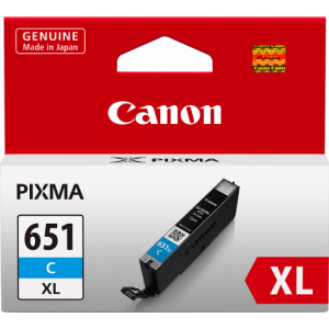 Canon CLI651XL Genuine Cyan Ink Cartridge - 695 A4 pages