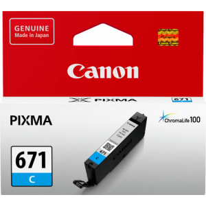 Canon CLI671 Genuine Cyan Ink Cartridge