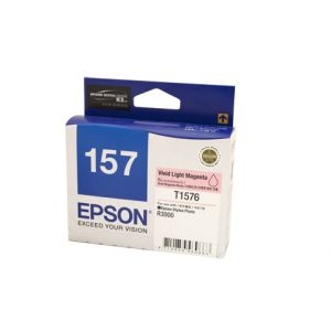 Epson 1576 Genuine Light  Magenta Ink Cartridge