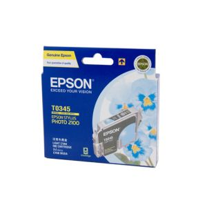 Epson T0342 Genuine Cyan Ink Cartridge - 440 pages