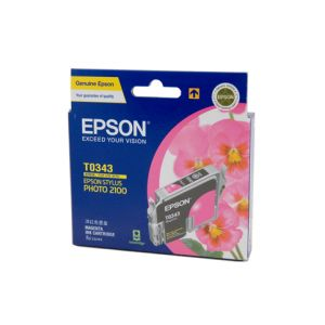 Epson T0343 Genuine Magenta Ink Cartridge - 440 pages
