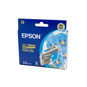 Epson T0345 Genuine Light Cyan Ink - 440 pages