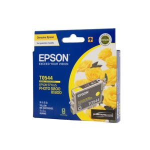 Epson T0544 Genuine Yellow Ink - 440 pages