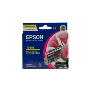 Epson T0593 Genuine Magenta Ink Cartridge - 450 pages