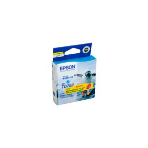 Epson T0752 Genuine Cyan Ink Cartridge - 255 pages