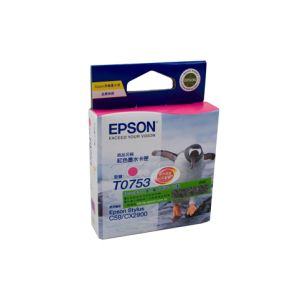 Epson T0753 Genuine Magenta Ink Cartridge - 255 pages