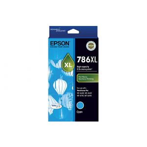 Epson 786XL Genuine Cyan Ink Cartridge - 2,000 pages