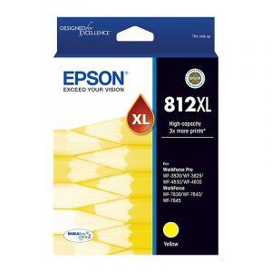 Epson 812XL (C13T05E492) Genuine Yellow High Yield Ink Cartridge