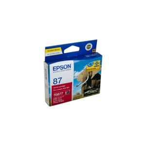 Epson T0877 Genuine Red Ink - 915 pages