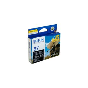 Epson T0878 Genuine Matte Black Ink - 520 pages