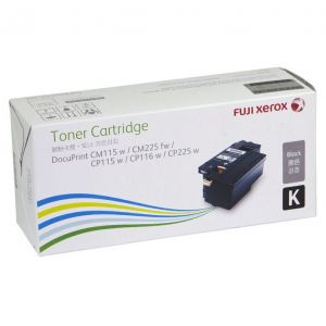 Fuji Xerox DocuPrint CP225w/CM225fw/CM115w/CP115w/CP116w Genuine Cyan High Yield Toner Cartridge - 1,400 pages (CT202265)